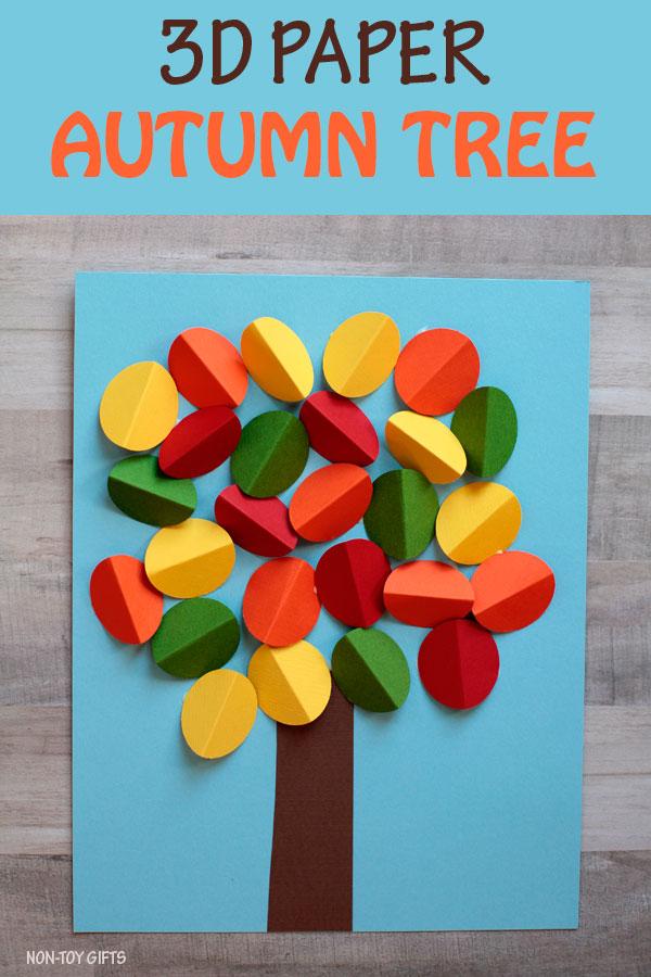Lavoretti per l 39 autunno for Crafts for kids com