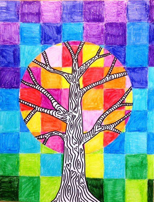 Line Art Year 5 : L arte a scuola