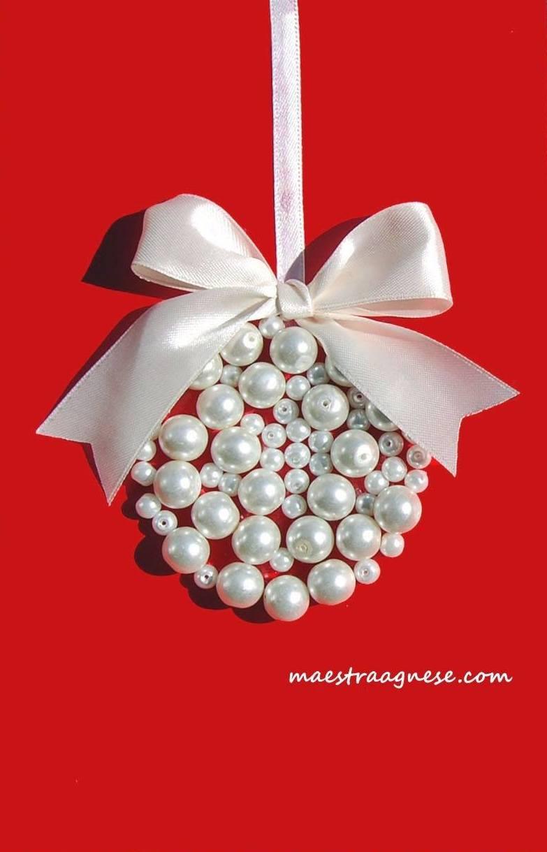 Lavoretti Di Natale Con Perline.Lavoretti Di Natale